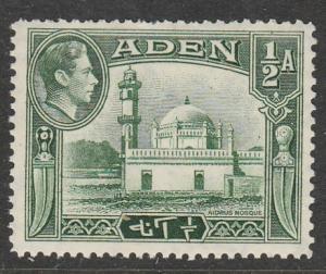 Aden   1942  Scott No. 16  (N**)