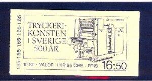 SWEDEN SC# 1452a BOOKLET - MNH