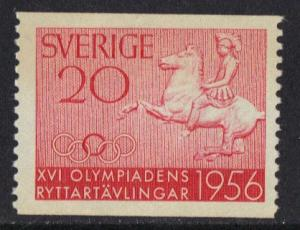 Sweden  MNH  1956 Olympic equestrian games  20 ore    #