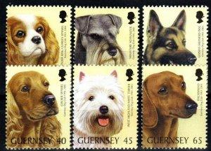 Guernsey #736-41 MNH CV $7.60 (X1411)