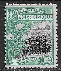 Mozambique Company ~ Scott # 129 ~  Unused ~ No Gum