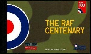 HERRICKSTAMP GREAT BRITAIN Sc.# BK220 Royal Air Force Cent. Prestige Booklet