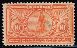CUBA STAMP 3c Orange Special Delivery USED INM---