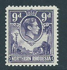 Northern Rhodesia  SG 39 MUH