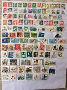 German 100+ stamps - Lot 8