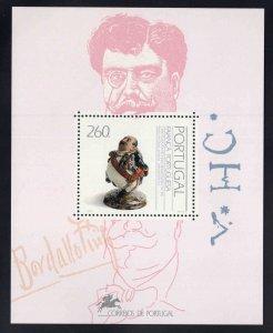 PORTUGAL Scott 1896 MNH** 1992 Ceramic Art souvenir sheet