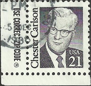 # 2180 USED CHESTER CARLSON