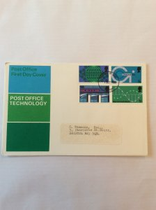 1969 Post Office Technology FDC post mark to Bristol