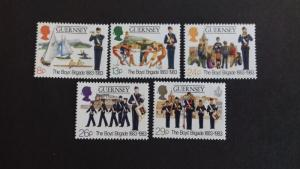 Guernsey 1983 The 100th Anniversary of the Boys Brigade Mint