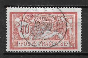 France Offices in Egypt - Alexandria 26 40c single Used