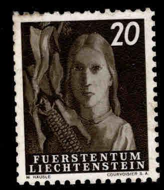 LIECHTENSTEIN Scott 250 MNH** 1951 stamp