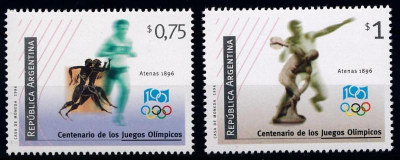 [63254] Argentina 1996 Centenary Olympic Games - Athletics  MNH