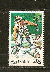 Australia 722 Trout Fishing MNH