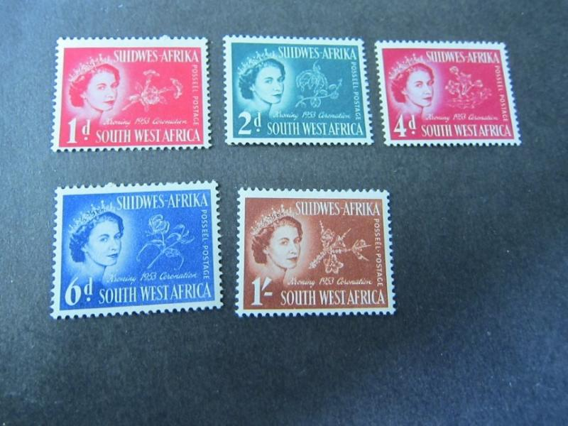 South West Africa 195 Sc 1244-2480 set mh