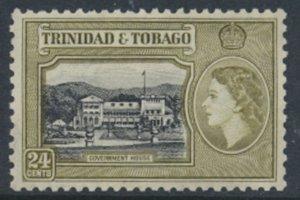 Trinidad & Tobago  SG 275  MNH  Black and Yellow Olive  SC# 80 - see scan