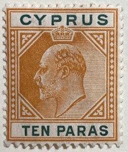 AlexStamps CYPRUS #49 VF Mint