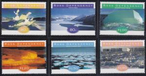New Zealand - Ross Dependency L49-L54 MNH (1998)