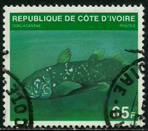 Ivory Coast #521B Used Stamp - Fish (b)