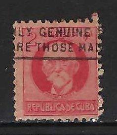 CUBA 266 VFU GOMEZ Z1877-10