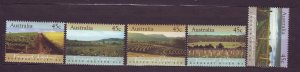 J23794 JLstamps 1992 australia set mnh #1262-6 views