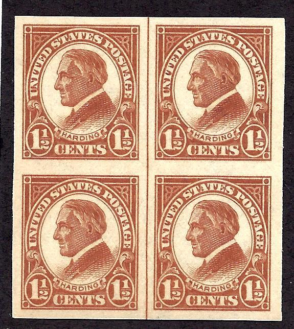 576 Mint,OG,NH... Line Block of 4... SCV $20.00