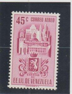 Venezuela  Scott#  C371  MH  (1951 Arms of Caracas)