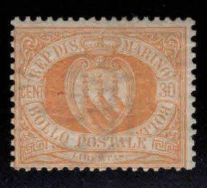 San Marino Scott 16 MH* 1892 stamp