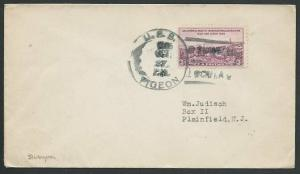 CHINA USA 1934 navy cover USS PIGEON at Shanghai...........................61122