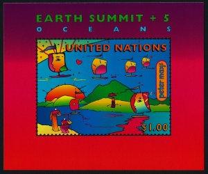 United Nations - New York 708 MNH Earth Summit, Sailboats