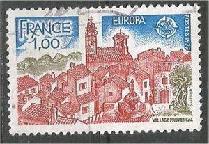 FRANCE, 1977 used 1fr, Provence Scott 1534