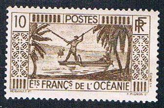 French Polynesia 85 MLH Spear Fishing (BP4614)