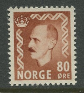 STAMP STATION PERTH Norway #317 Definitive Issue 1950 MLH