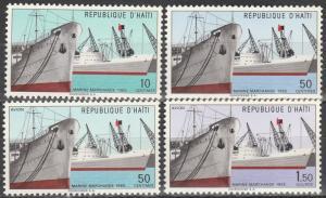 Haiti #524-5, C236-7 MNH (S1748)