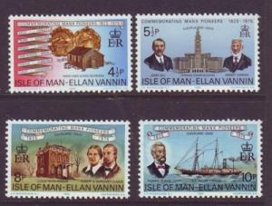 Isle of Man Sc 62-5 Cleveland Settlers stamps NH