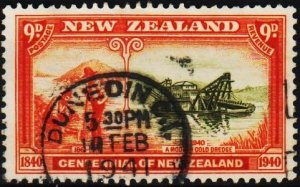 New Zealand. 1940 9d S.G.624  Fine Used
