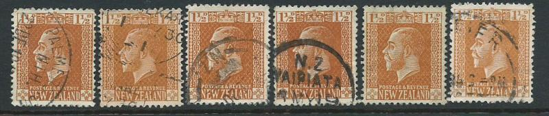New Zealand SG 438 6 copies assume lowest value for study