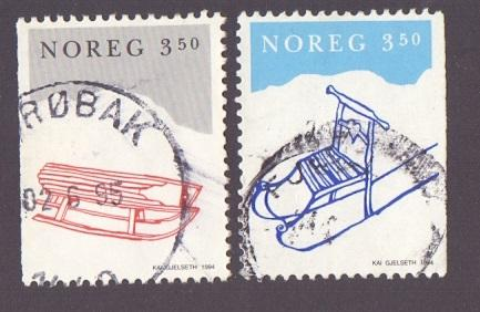Norway 1995 used Christmas complete