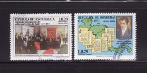Honduras C623-C624 U Birth of José Cecilio del Valle (A)