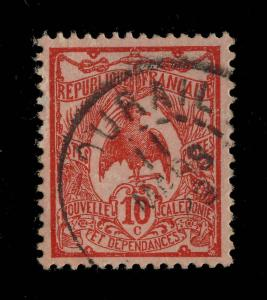 NOUVELLE CALÉDONIE 1929 - Yv. N°119 obl. BOURAIL New Caledonia