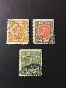 Iceland sc 100-102 uh wmk 114