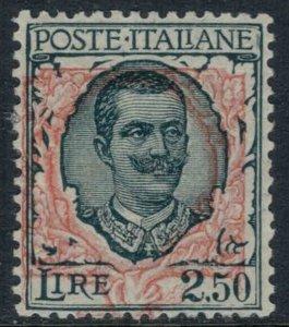 Italy #90*  CV $57.50