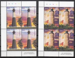 Gambia. Sc # 2857-2861 (2), MNH, 2004, Lighthouses