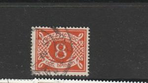 Ireland postage due 1940/70 8d Used SG D12