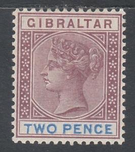 GIBRALTAR 1898 QV 2D