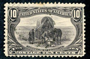 #290 – 1898 10c Trans-Mississippi Exposition.Used. Very Light Cancel.