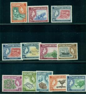 PITCAIRN ISLAND #20-31 Complete set, incl. School Teachers House NH