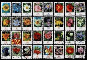 Michel# 2434 - 3207 Flowers used  cv 175 Euro