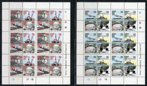 BARBUDA SPECIAL EVENTS SET OF FIVE SHEETS SCOTT #318/22 SHEET SET MINT NH