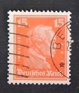 Kant, 15 Pf., Reich, Germany (18-3GR)