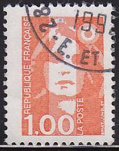 France 2182 Hinged Used 1990 Marianne